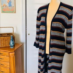 Style & Co Cardigan Long XL Open, Tunic Excellent